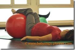 preparation naissance avec ballon