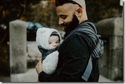 porter son bébé
