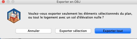 Exportez tout