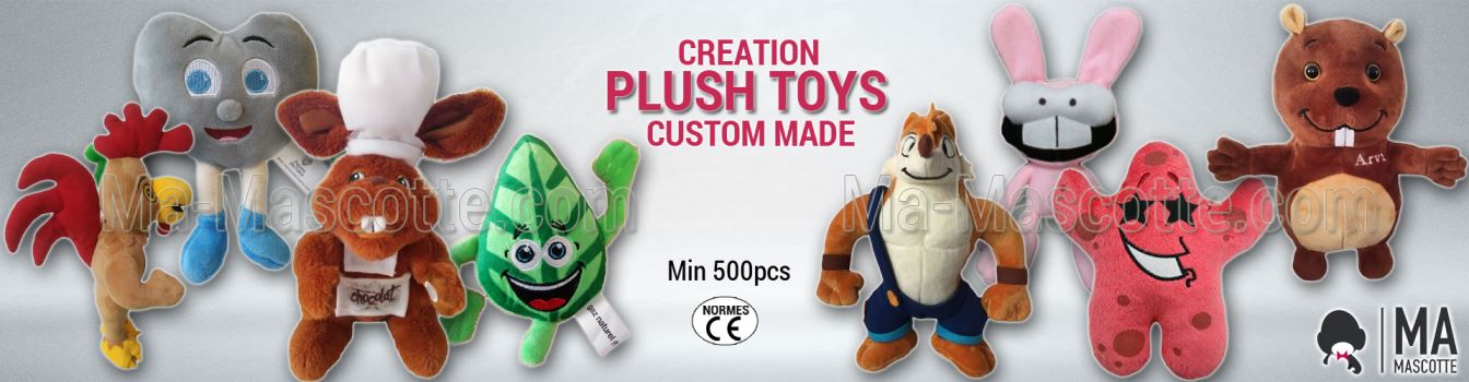CUSTOM MADE PLUSH TOYS MANUFACTURING AND CREATION