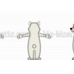 Création Graphique Sur Mesure ours blanc BIHR (création graphique sur mesure).