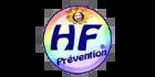 Logo Client HF PREVENTION (Ma Mascotte - fabrication sur mesure de mascottes et peluches).