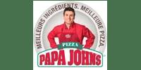 Logo Client PAPA JOHN'S (Ma Mascotte - fabrication sur mesure de mascottes et peluches).