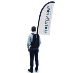 PLV publicitaire ou goodies publicitaire pour la mutuelle Ecouter Voir