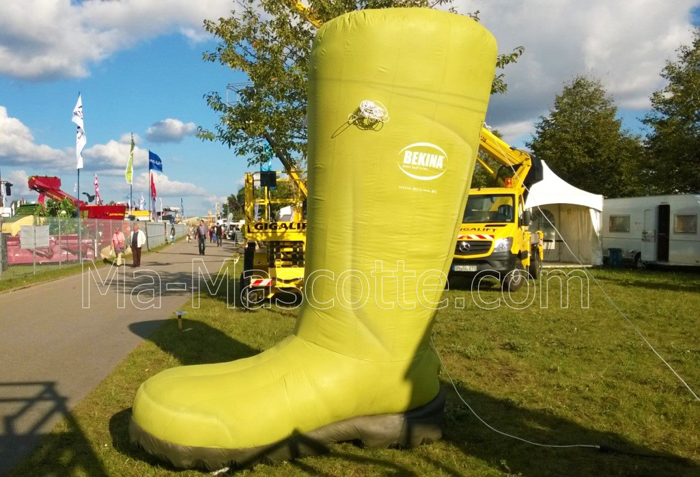 Inflatable POS boots
