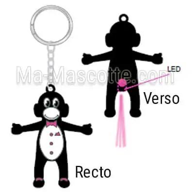 custom led keychain manufacturing