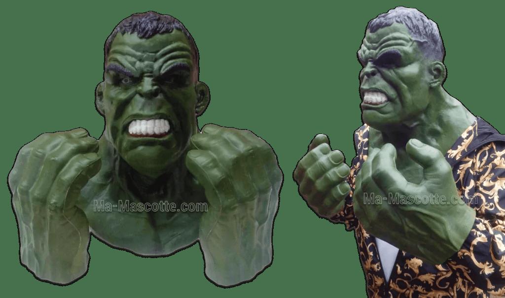 fabrication hulk sur mesure réaliste décor
