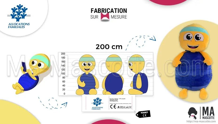 Fabrication peluche géante sur mesure. Création de peluche XXL pour décoration. Fabricant peluche géante.