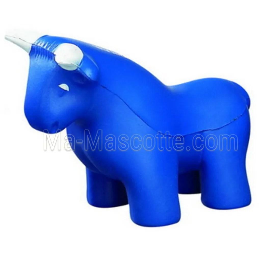 Antistress de taureau à personnaliser avec logo