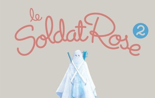 La pocette officielle du conte musical Le Soldat Rose 2