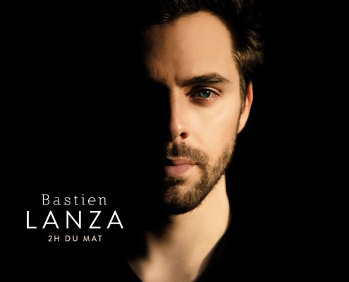 voici la pochette du nouvel album de Bastien Lanza