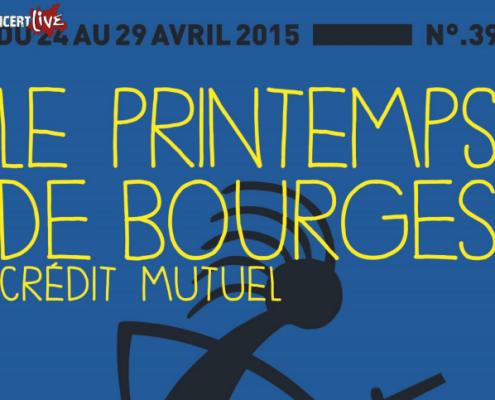 Le festival du Printemps de Bourges nous promet encore une fois de belles affiches musicales