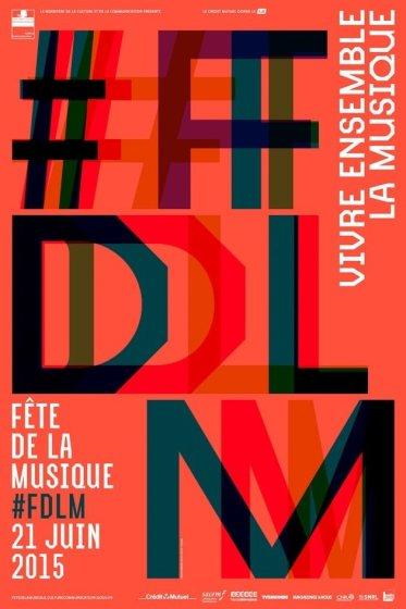 la fête de la musique via son affiche officielle