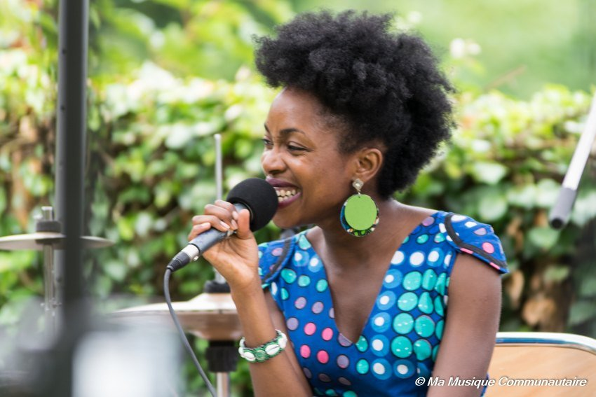 Lucia Carvalho au grès du jazz festival 2015 #3