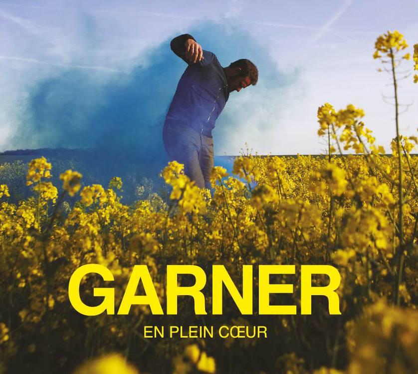 """la pochette de l'EP """"En plein coeur"""" de l'artiste français Garner"""