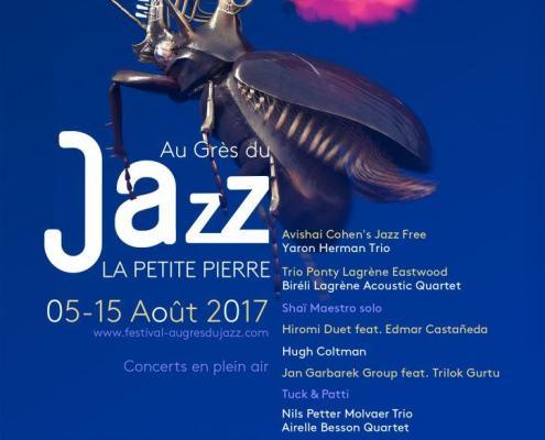 rencontre, le maître mot de cette édition 2017 du festivalAu Grès du Jazz