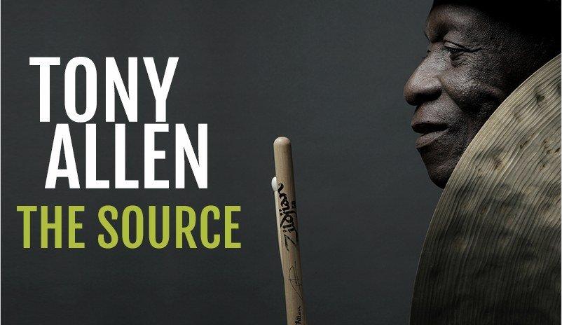 bannière de l'album The Source de Tony Allen