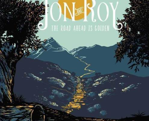 pochette de l'album The Road Ahead Is Golden du groupe canadien Jon and Roy