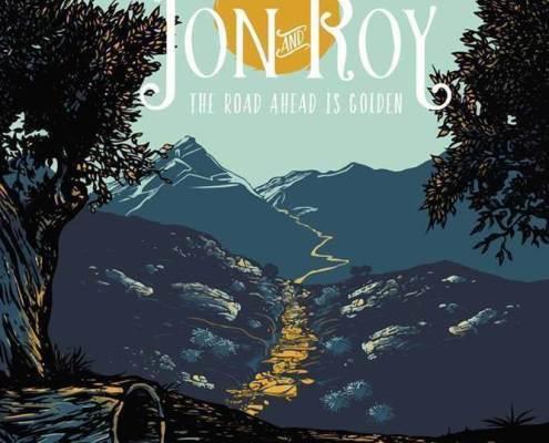 pochette de l'album The Road Ahead Is Golden du groupe canadien Jon and Roy