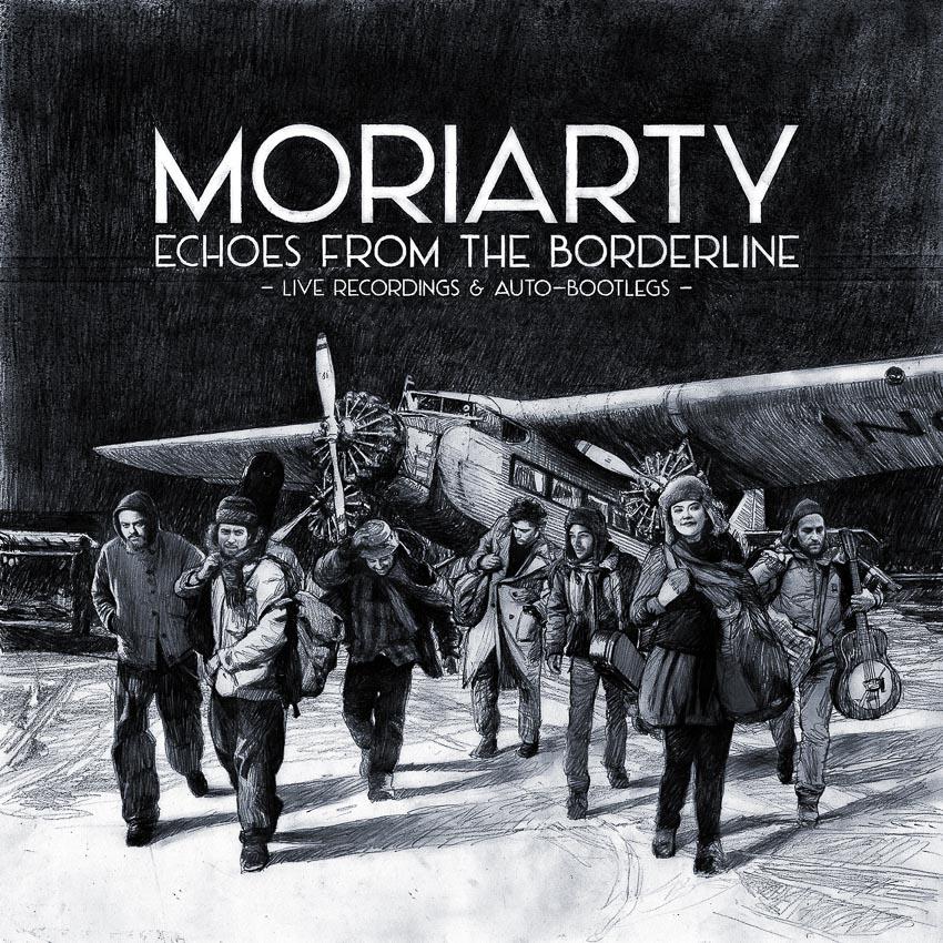 cover de l'album live de Moriarty
