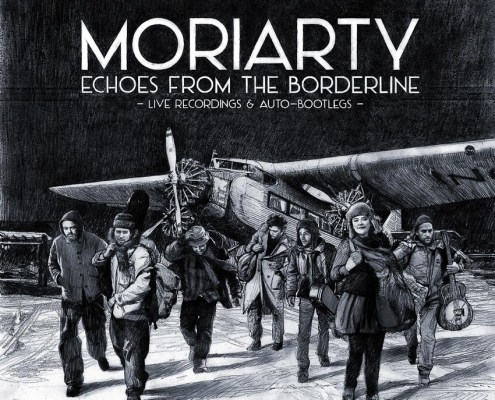 cover de l'album live de Moriarty
