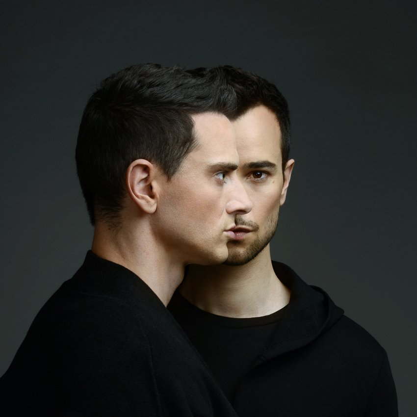 """Portrait du duo Cassandre pour lr titre """"Respire"""""""
