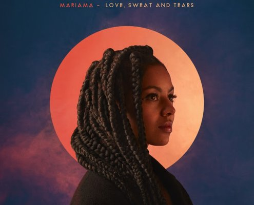 "Voici la pochette du prochain album ""Love, Sweat and Tears"" de Mariama"