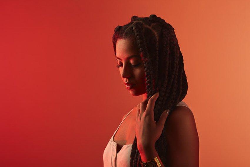 Portrait de l'artiste Mariama