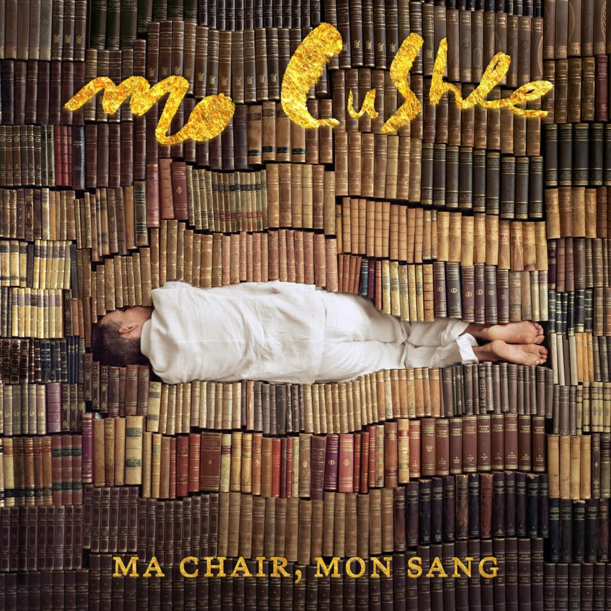 "voici la cover de l'album ""Ma Chair Mon Sang"" de Mo Cushle"