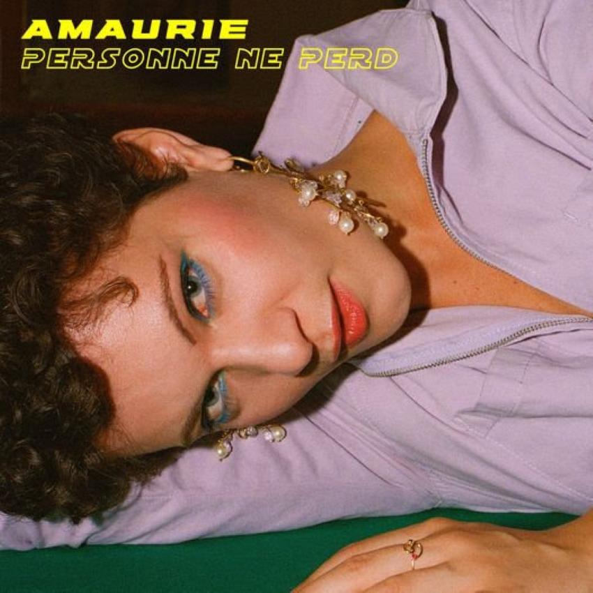 pochette de l'EP de l'artiste Amaurie