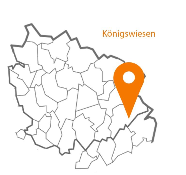 MAP Karte Königswiesen