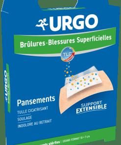 Pansement brûlure et blessure superficielle URGO