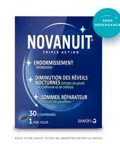 Novanuit triple action avec melatonie - Avis, composition et effets secondaires