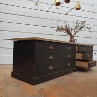 ancien meuble tv en bois