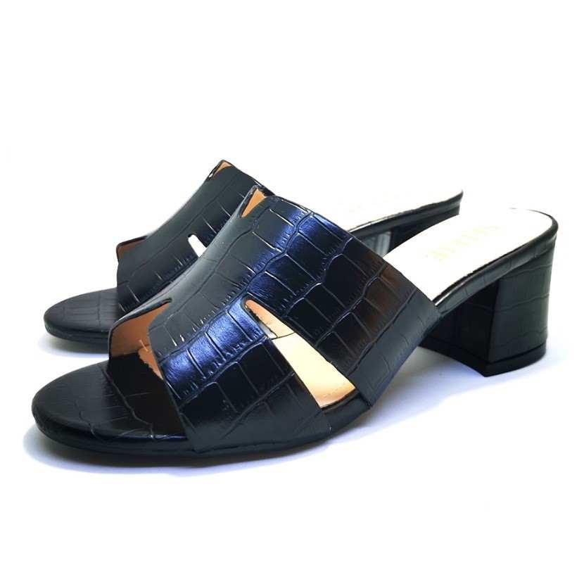 sandale mule CROPELL Noir