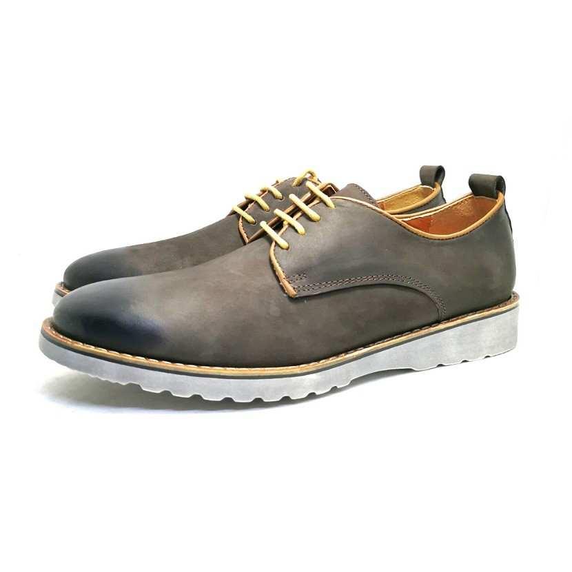chaussure richelieu Buck marron