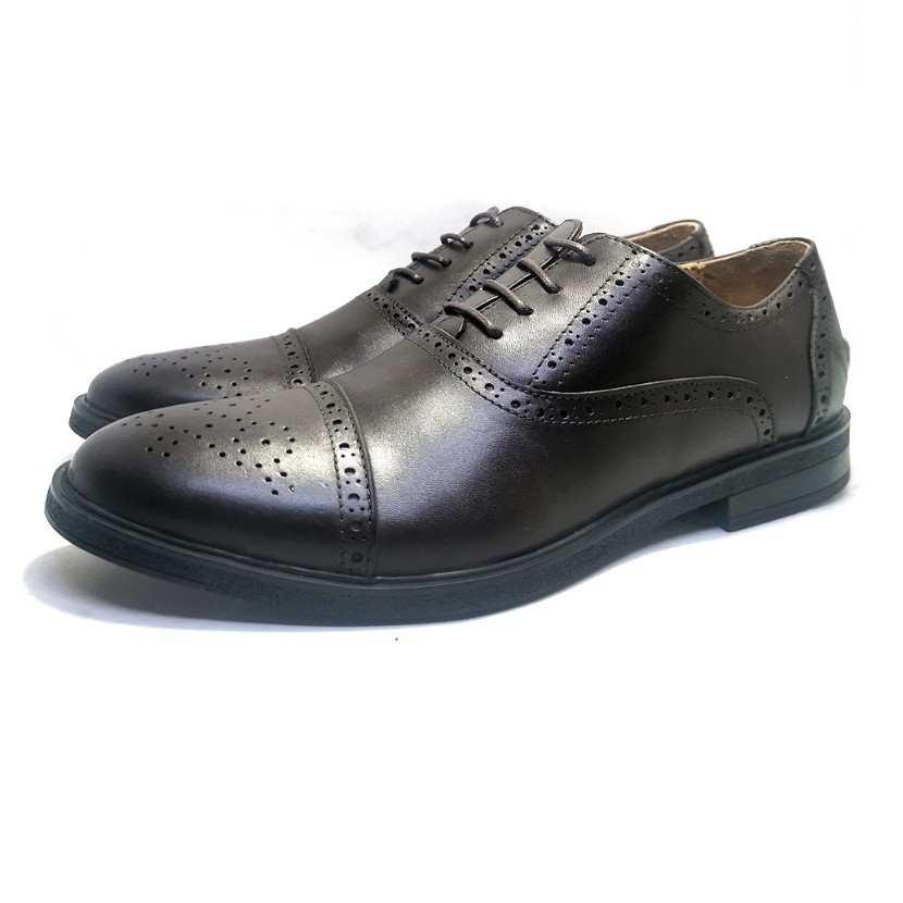 chaussure richelieu Reece marron