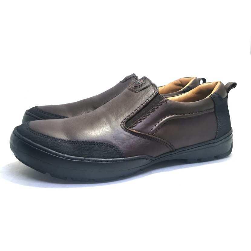 Chaussure de ville Fripon-Confort pour homme marron