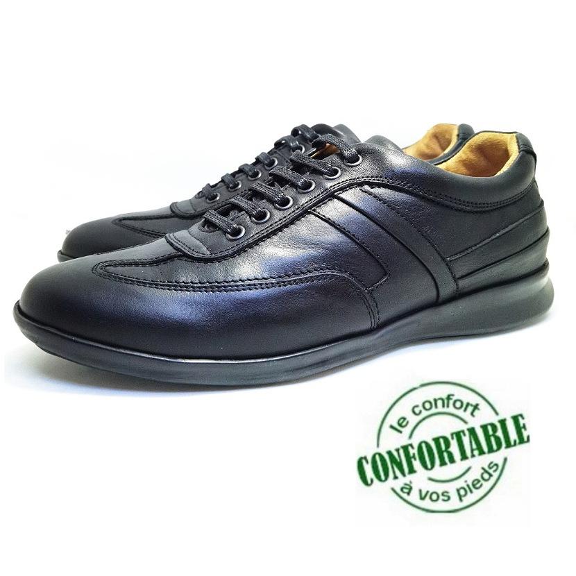 Chaussure ville ROTWEAR-Confort pour homme noir