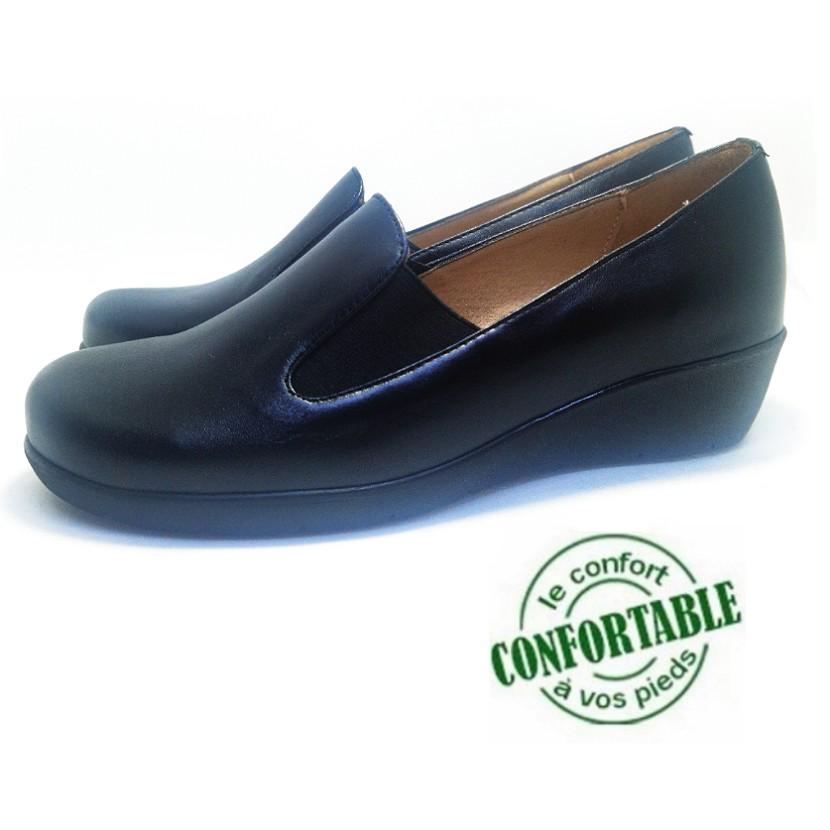 Chaussure femme médical pour femme TROXW couleur noir