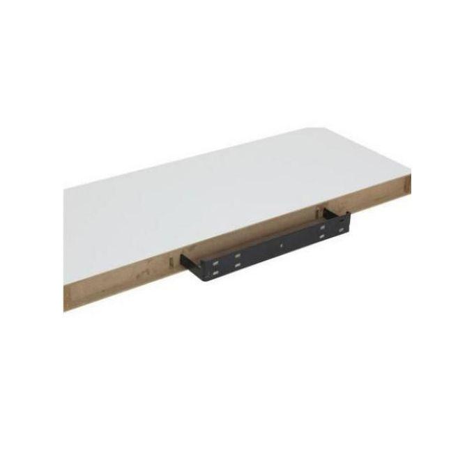 etagere murale fixation invisible blanc l 80 x p 22 cm ep 3 5 cm