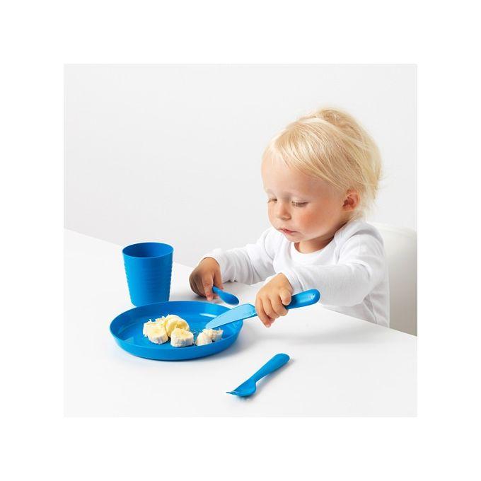 set de 36 pieces ikea menagere assiette goblet couteau fourchette cuillere bol