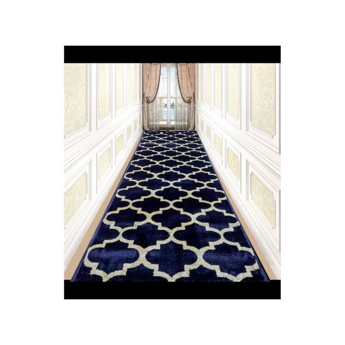 tapis couloir 3m 0 80m dark blue
