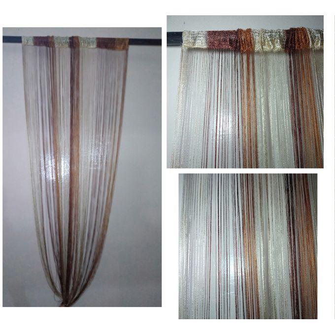 rideau en fil pour porte fenetre salon