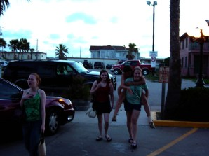Emily Dean, Bridget Murphy, Carolyn Brewer, Kat Pirnie