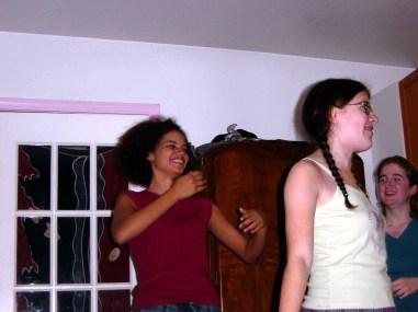 Julie Sugar, Sarah Clarke, Rebecca Lammons