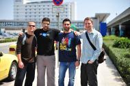 Tim Ferriss, Stelios Petrakis, Stefanos Kofopoulos, Matt Mullenweg