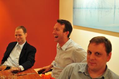 Phil Black, Michael Arrington, Marty Moe