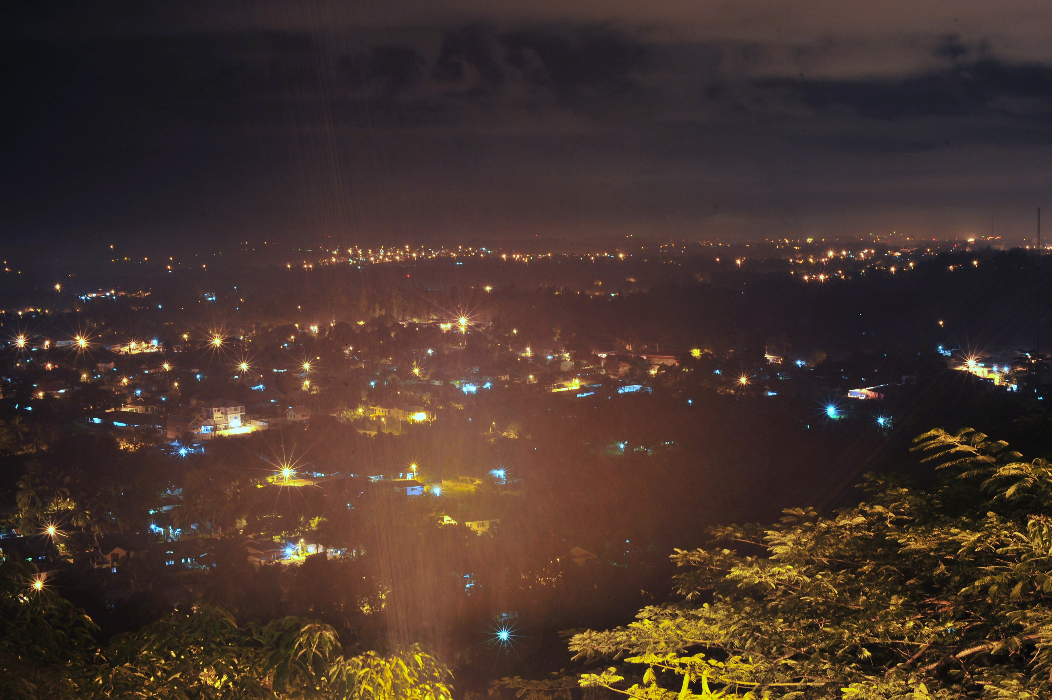 view of downtown davao from jack's ridge