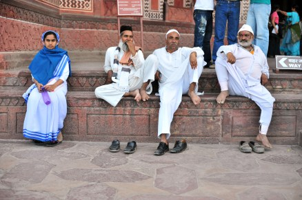 A Christian, a Muslim, and a Hindu all sitting in a row.7 Comments